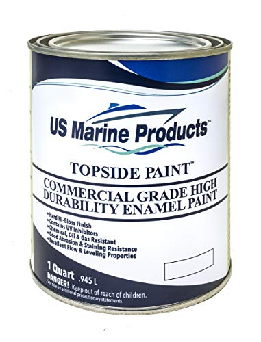 US Marine Products LLC Commercial Grade Topside Paint International Orange Quart