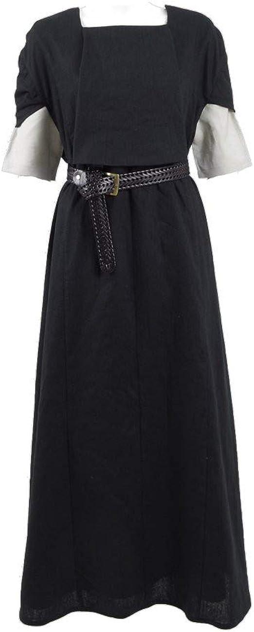 Amazon.com: ggaammee Tronos Arya disfraz Cosplay Vestido con ...