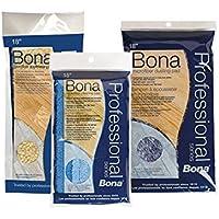 Bona Pro Series AX0003443 18-Inch Microfiber Cleaning Pad, Tri-Lingual