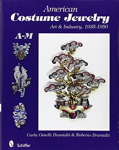 American Costume Jewelry: Art & Industry, 1935-1950, A-M - Costume Jewelry Art