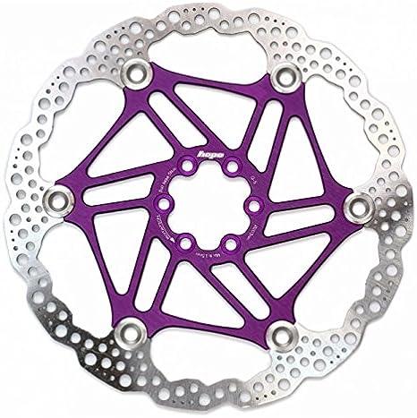 disco galleggiante per Mountain Bike nero Wovemster Freno a disco MTB per bicicletta 203MM