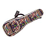MUSIC FIRST Cotton 26'' Tenor 3D Geometric Patterned Ukulele Bag Ukulele Cover Ukulle Case