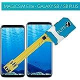 Magicsim Elite per Samsung Galaxy S8e S8Plus–Dual SIM compatibile