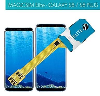 MAGICSIM ELITE - Dual SIM adapter for for Samsung Galaxy S8
