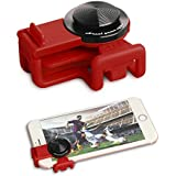 GEED J039 Mobile Game Controller and Gamepad 360°Analog Stick Ergonomic Design Phone Joystick for Fortnite Mobile/Knives Out/Rules of Survival, RED