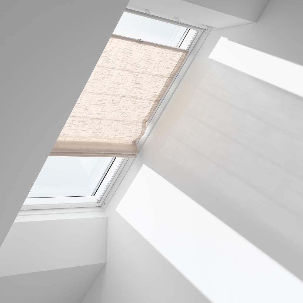 Orignal VELUX Raffrollo FHB S06 6504   Bedienart   Manuell   Farbe   Dekor Hellsand   Fenstergröße   S06   Fenstertypen   GGU, GGL, GPU, GPL, GHU, GHL, GTU, GTL, GXU, GXL _12996