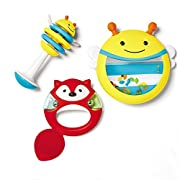 Skip Hop Explore and More Musical Instrument Set, Multi (3-piece)
