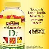 Nature Made Vitamin D3 Adult Gummies 275 Gummies - (pack of 3)