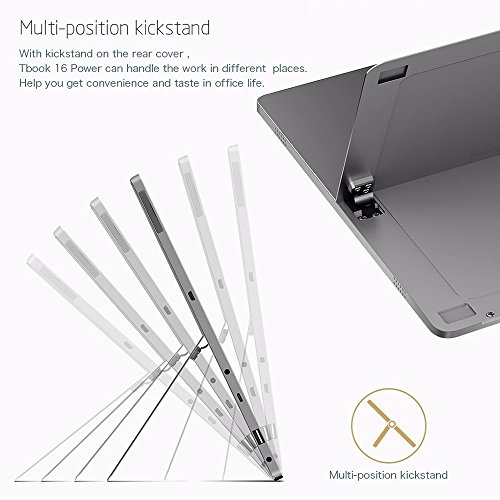 AWOW 11.6 Inch 8GB 64GB 2-in-1 Laptops Tablet PC with Windows 10 and Android 6.0 Keyboard Stylus - ( Intel X7 Z8750 Quad Core 2.56Ghz | Intel HD Graphics 405 | IPS 1920X1080 | USB 3.0 | Type C ) by AWOW (Image #6)