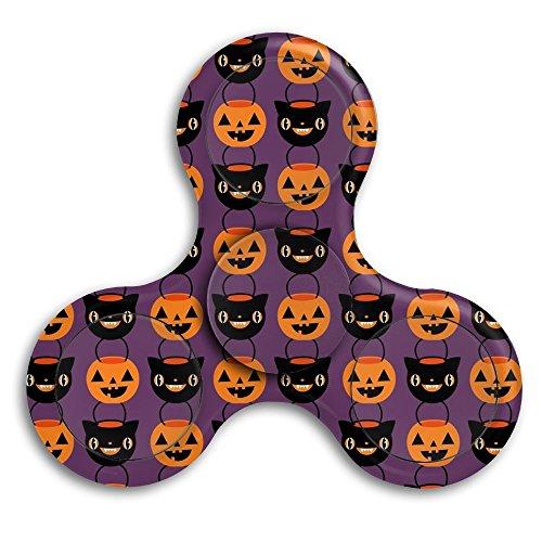 CRSJBB219 Halloween Candy Buckets Fidget Spinner Toy Hand Fast Spin Spinner Tri-Hands EDC ADD ADHD Children