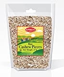 SunBest Natural Cashew PIECES Raw, Unsalted, Unroasted in Resealable Bag (Pieces, 4 Lb)