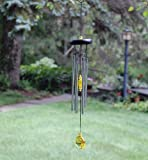 Woodstock Chakra Chime, Citrine- Eastern Energies Collection