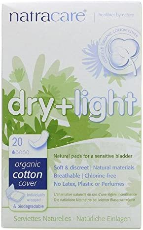 NATRACARE - Incontinencia Dry & Light - Funda de Algodón Orgánico ...