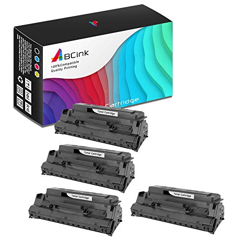 ABCink Compatible Toner Cartridge Replacements for Lexmark 13T0101,for use in Lexmark E310,E310L,E312,E312L,6000 Yields(4 Pack,Black)