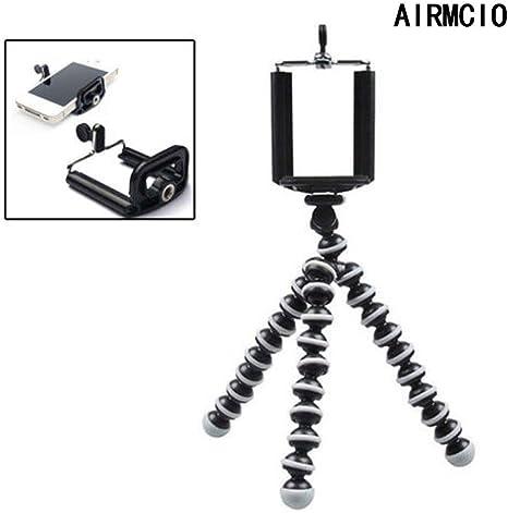 Airmcio Trípode de cámara, trípode flexible, mini trípode de viaje ...