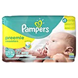 Health & Personal Care : Pampers Preemie Swaddlers P-s 27 Diapers
