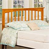 Product review for Atlantic Furniture Mission Headboard in Caramel Latte - Full Size