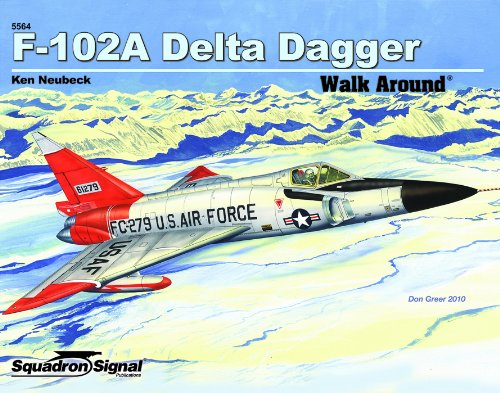 F-102 Delta Dagger - Walk Around No. 64 for sale  Delivered anywhere in USA