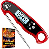 Digital Meat Thermometer - Best Waterproof Instant Read Thermometer with Calibration and Backlight