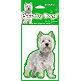 West Highland Terrier Westie (b) Air Freshener for Car or Home - Perfect Gift by Tailz Gifts