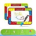 szjsl Magic水キャンバスDoodleマット大水Painting Drawing Writingボードおもちゃ+ 2マジックペンforベビーキッズギフト、グラフィティアクセサリー