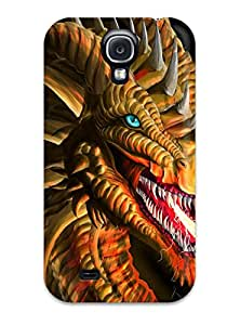 Oscar M. Gilbert's Shop 7956750K26151832 Hot Dragon Tpu Case Cover Compatible With Galaxy S4