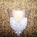 Mikash 18 Clear Plastic Vases Cups Party Wedding Centerpieces Reception Decorations | Model WDDNGDCRTN - 14213 | 12 Pieces
