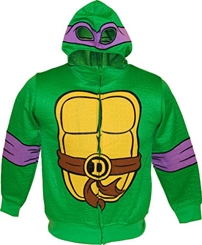 Teenage Mutant Ninja Turtles DON Reptilian Print Costume