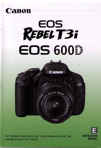 canon rebel t3 camera instruction manual user guide manual that rh sibere co Canon Cameras Digital Manuals G9x Digital Canon Camera Parts