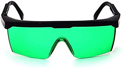 KKmoon Occhiali Laser Viola blu Occhiali Protettivi Laser Occhiali Antinfortunistici per Laser Occhiali di Protezione per Gli Occhi per uso Industriale
