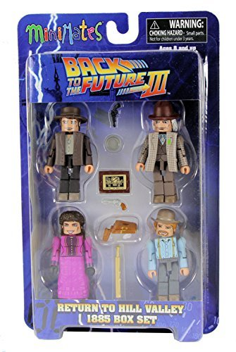 Back to the Future Part III Minimates Return to Hill Valley 1885 Mini Figure Box Set ()