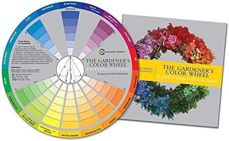 Gardener's Color Wheel Helps Gardeners Create Exciting Color Combinations. by Color Wheel Company