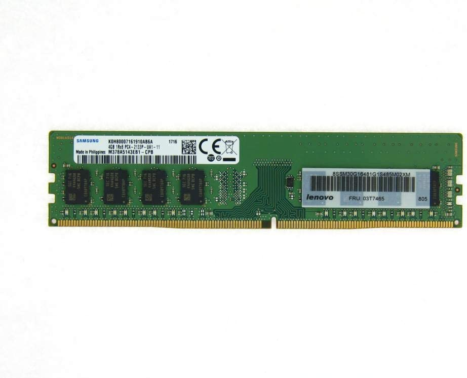 New Genuine Ram For Lenovo 4GB DDR4,2133 Memory 03T7465 51ybSc5PUML