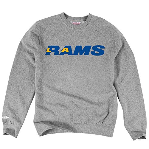 Los Angeles Rams NFL Mitchell & Ness Men's Team Name Crewneck Pullover Fleece (XX-Large) (Cook Quinn Jersey)