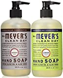 Mrs. Meyers Liquid Hand Soap Lavender & Lemon Verbena, 12.5 oz. each