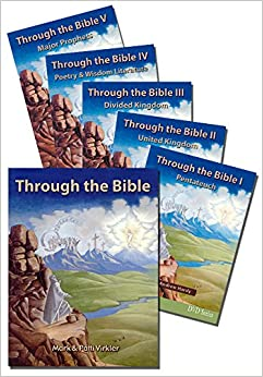 Book BUNDLE: Through the Bible Old Testament DVD Package - Mark Virkler - 1 book and 5 DVDs