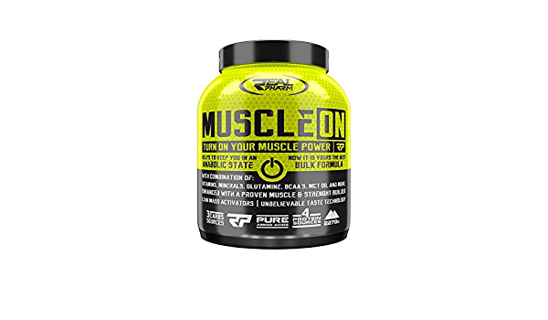 Real Pharm Muscle ON Weight Gainer Bulk – 2270 g (chocolate ...