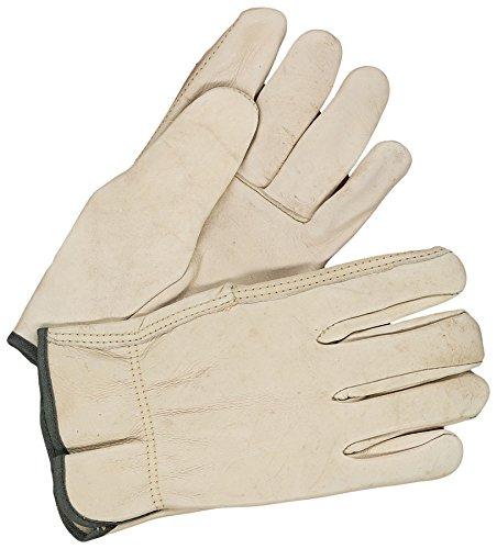 Bob Dale Gloves 201157113 Grain Cowhide Driver Straight Thumb,