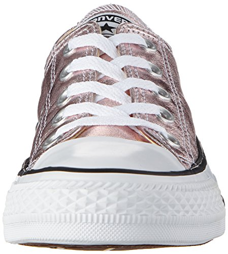 Converse Unisex-Erwachsene CTAS Ox Rose Quartz/White/Black Sneaker Mehrfarbig (Rose Quartz/White/Black)