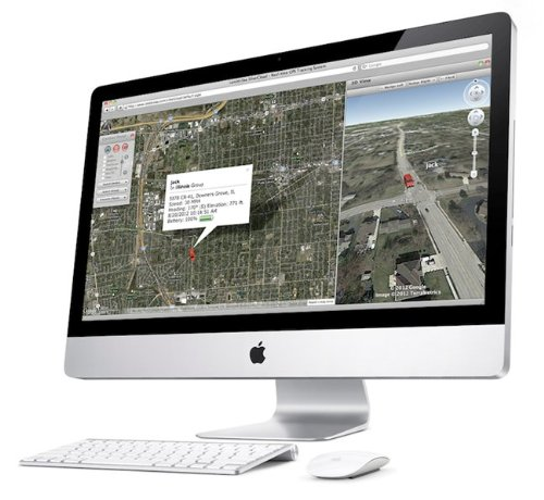 LandAirSea - Silver Cloud Real-Time GPS Tracking System and a FREE Magnet Mount