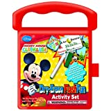National Design Mickey Mouse Destination Fun Dry-Erase Flash Fun Activity Set