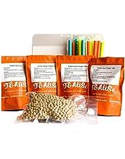 TEAliSe Best Selling Boba Tea 3 Flavors Bubble Tea Tapioca Gift Set