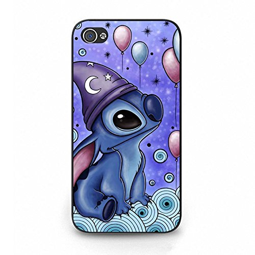 Iphone 4 4s Cover Shell Stylish Lovely Stitch Disney Fantasy Movie Lilo & Stitch Phone Case Cover Anime Classical