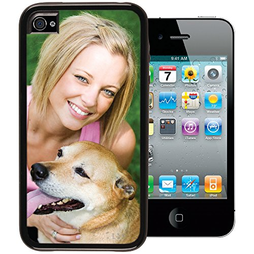 iPhone 4 / 4s PixCase - Personalize It Yourself – Insert photos or create custom inserts at PersonalizeItYourself.com and change anytime - Shock absorbing vinyl edges with clear picture window](Custom Iphone 4 Case)