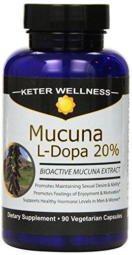 Mucuna pruriens Extract Vegetarian Capsules product image