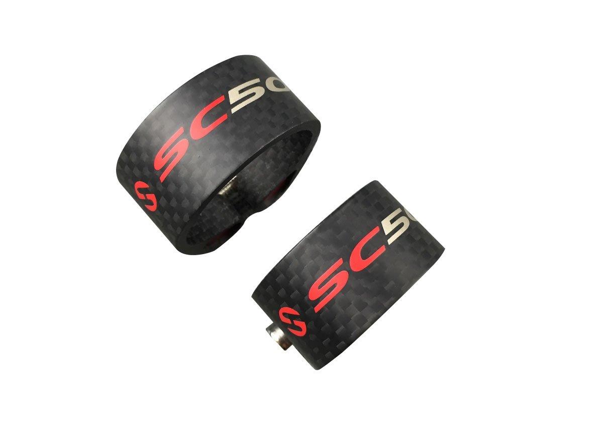 Saleting SC Bicycle Seatpost Clamp Carbon Fiber