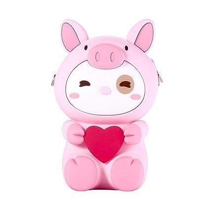 Monedero de Silicona para teléfono móvil, diseño de Cerdo ...