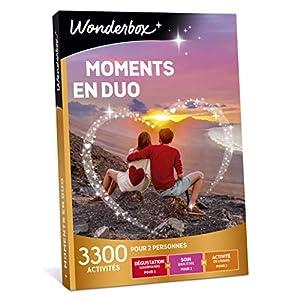 Wonderbox – Coffret cadeau – MOMENTS EN DUO – idée cadeau- 3300 activités à partager