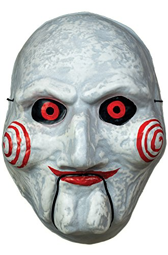 Jigsaw Puppet Costumes (Trick or Treat Billy the Puppet Vacuform Mask-Standard)