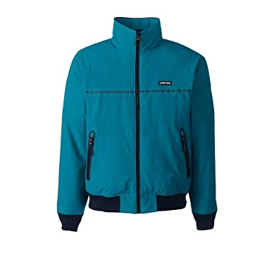 614bb82ea66 Lands  End Men s Classic Squall Jacket at Amazon Men s Clothing ...